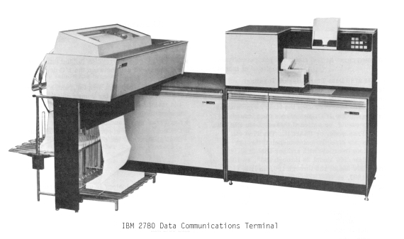IBM 2780 Binary Synchronous Communications Terminal